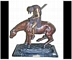 End of the Trail Bronze Horse Sculpture