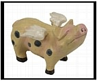 Little Flying Pig Figurine