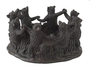 Ring of Bear Friends Sculpture