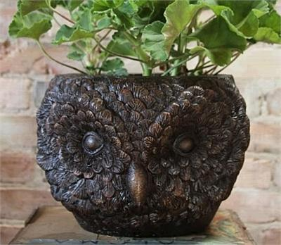 Hootie the Owl Planter