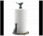 Looking up Cat Paper Towel Holder