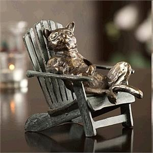 Lazy Cat Figurine