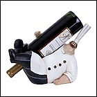Hors d'oevres Chef Wine Bottle Holder