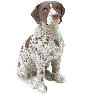 German Shorthaired Pointer Figurine