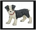 Standing Boston Terrier Figurine - Cast Iron