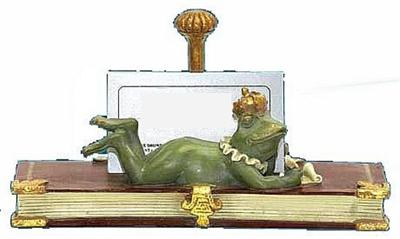 Frog Prince Business Card Holder