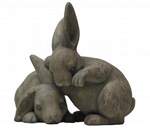 Bunny Friends Sculpture