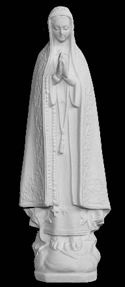 "10""H Our Lady of Fatima Statue"