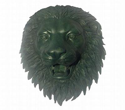 Lion Wall Mask and Fountain Spouter